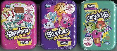 Topps Shopkins Series 1-4 Trading Cards Factory Sealed Tin Set [75 Cards]