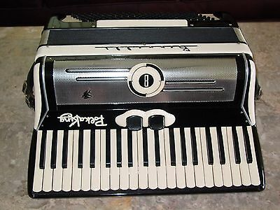 Bernelli Polka King vintage accordion 17 inch keyboard Brazil shipping
