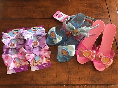 Lot Girl's PRINCESS DRESS UP Shoes Accessories Sofia The First. Cinderella