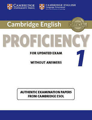 Cambridge English Proficiency 1 for Updated Exam Student's Book without Answers,