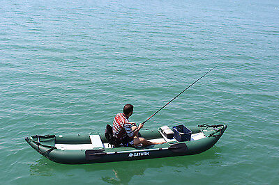 Inflatables Sailing Boating Kayak Canoe Dinghy Boat Unique Fishing Rod & Reel