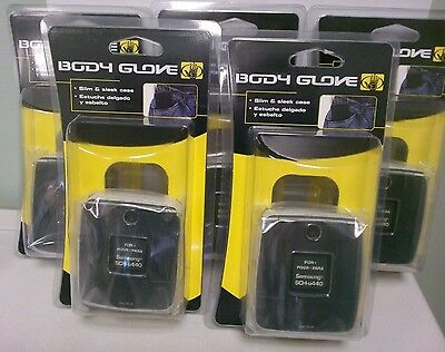 New! Lot of 5 Body Glove Black Case for  Samsung SCH-u440