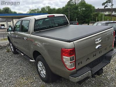 To Fit 12 - 16 Ford Ranger Tri Folding Soft Tonneau Bed Canopy Cover Non Drill