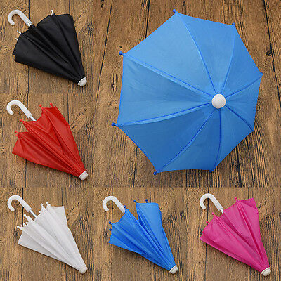 "DIY Toys Multicolor 18""  Girl Doll Umbrella Kids New Doll Accessories"
