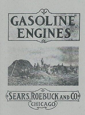 Sears Roebuck & Co. Gasoline Engine Book Motor Informational Manual