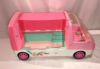 1996 pink Barbie Camper RV  Motor home / Van