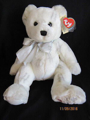 Ty Beanie Buddy Classic - Harrods Moondust Bear - Retired With Tag