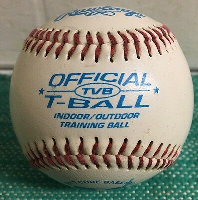 Rawlings Official T-Ball Indoor/outdoor Training Ball