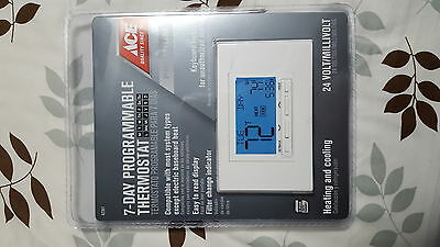 Ace Programmable Premium 7-day home thermostat 42361