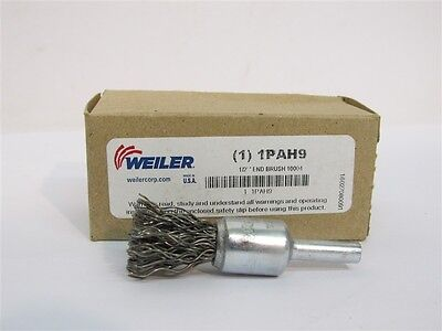 "Weiler 10004, 1/2"" Crimped Wire End Brush"