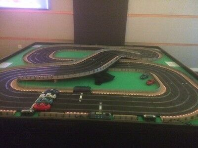 Giant Scalextric 4 lane 8' X 8' Business to Hire out