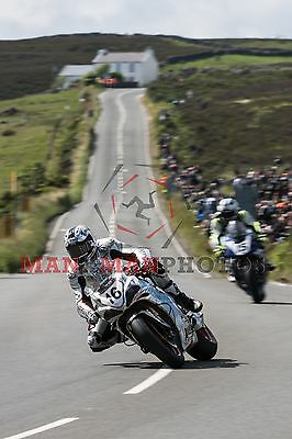 Josh Brookes  Norton  2017 Isle of Man  Superbike TT A4 size photo