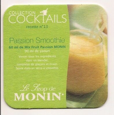 Sous Bock  Collection  Cocktails   Sirop  Monin Nr 13