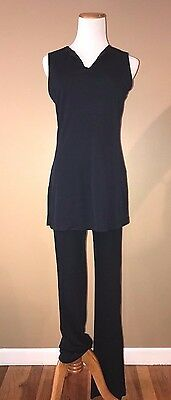 Guess Collection sleeveless tunic/pant set, Navy, Size S