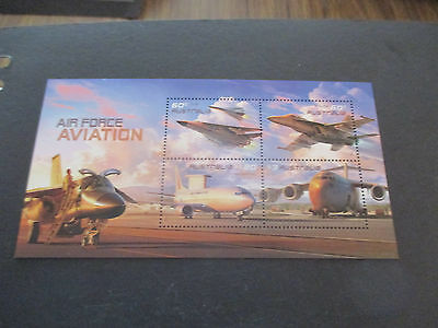 n0--3--  2011 --AIR FORCE AVIATION    -MINI   SHEET--MINT--MNH --A1