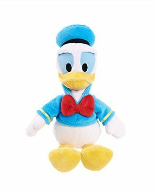 """Donald Duck Plush Doll 11"""" Tall Beanie Mickey Mouse Clubhouse Disney Jr"""