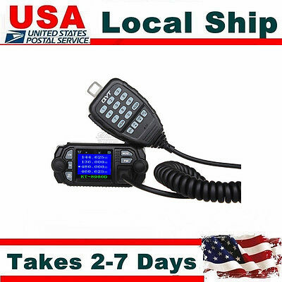 QYT KT-8900D Dual Band VHF UHF Color Screen Ham Car Mobile Radio Transceiver
