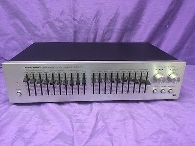 Realistic 10 Band Graphic Frequency Equalizer 31-2000A -Quality-Works Great!!