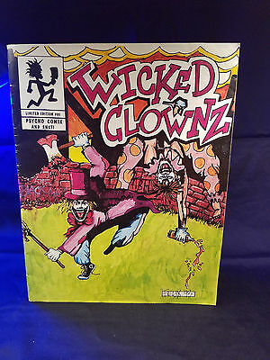 Insane Clown Posse - Wicked Clown Comic Book twiztid esham i.c.p. dark lotus abk