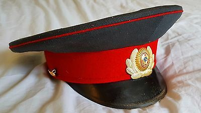 Original Soviet NKVD/MVD Officer's Cap (Dated 1983)