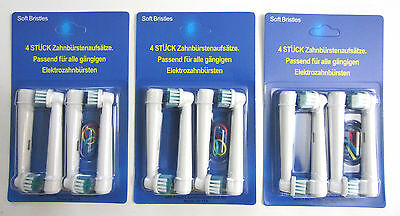 12x Electric Replacement Toothbrush Brush Heads SB-17A (12pcs)