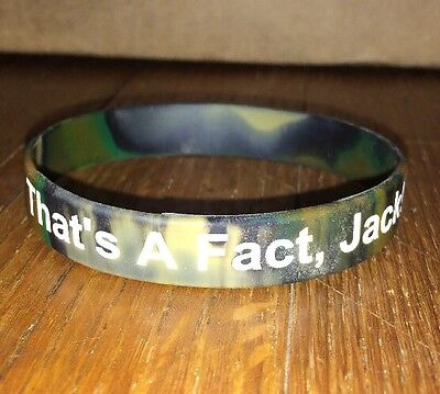 Duck Dynasty Uncle SI Bracelet That's A Fact Jack Duck Commander wristbands