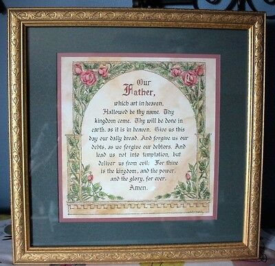 Home Interior Picture Our Father Verse Lords Prayer