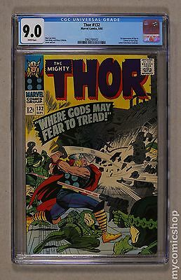 Thor (1962-1996 1st Series Journey Into Mystery) #132 CGC 9.0 0962784002