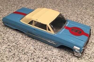Vintage 1967 Ideal Motorific Impala Body Slot Car