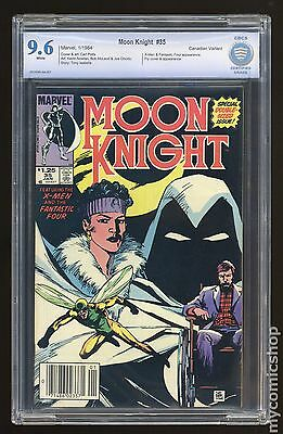 Moon Knight (1980 1st Series) Canadian Price Variant #35 CBCS 9.6