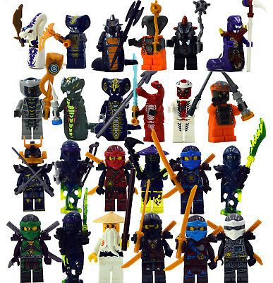 9 pcs Ninjago the fifth season Master Chen Pythor Skylor Chop'rai Lioyd   0118