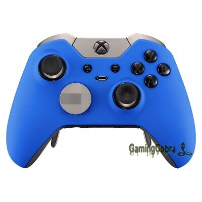 Soft Touch Blue Repair Mod Housing Shell for Microsoft Xbox One Elite Controller