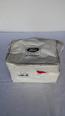 Vintage Ford 75Th Anniversary Thermal Bag 8 Years Cars Model T  A Thunderbird +