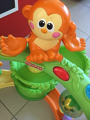 Fisher-Price Go Baby Go Crawl and Cruise Musical Jungle. Toddler Toy. Monkey