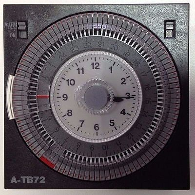 ATB-72 Time Clock Standard Timer Saltmaster Clearwater Chlorinators  ATB72 pool