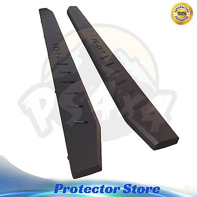 Steel Side Steps for Ford Ranger 2012-2016 Running Boards Sidesteps Matte Black
