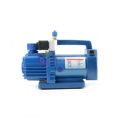 Refrigerant Air Conditioner HVAC Air Rotary Vane Fridge Vacuum Pump V-i115S-M