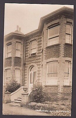 Postcard Guildford Surrey house called Lindisfarne on Harvey Road early RP