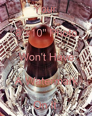 Set of 3 Titan II Missile 8x10 Color Photos/Pictures (SAC,LGM-25C,ICBM,Nuclear)
