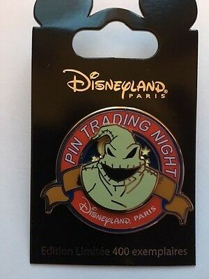 Pin Pins Disney Paris - Oogie Boogie - Sold Out - Pin Trading Night Du 31 Mars !