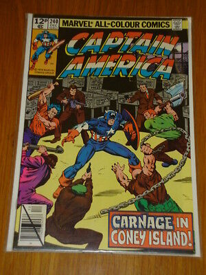 Captain America #240 Marvel Comic Near Mint Condition December 1979