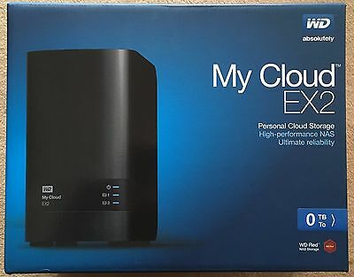 Western Digital WD My Cloud EX2 (sans disque/without disk/no disk/0 disk)
