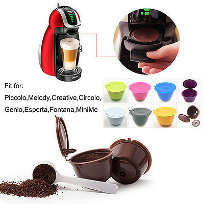 Reusable Coffee Capsules Cup Filter for Dolce Gusto Refillable Brewers Nescafe