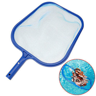 Plastic Net Swimming Pool Spa Hot Tub Pond Leaf Skimmer Rake Cleaning Net