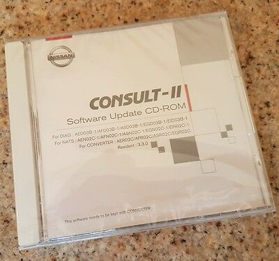 NISSAN Consult II Software Update cd-rom version 3.3.0