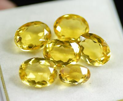 Sparkling 71.00 Ct Oval Shape Yellow Citrine Loose Gemstone~Xclusive Lot Sale
