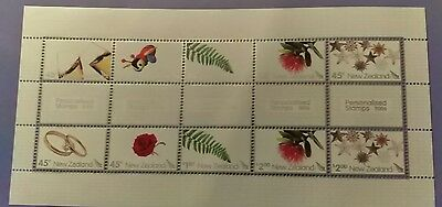 N. Zealand 2006 Personalised Stamps  m/s   MUH  a7