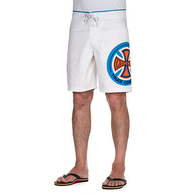 Independent CC Truck Co Board Shorts White