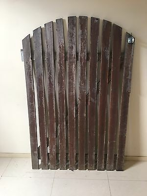 WOODEN SLAT PALING HOUSE GATE 1400 x 900 mm(W)
