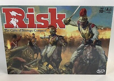 Risk Board Game The Classic Strategy Conquest Family Game By Hasbro Vintage New